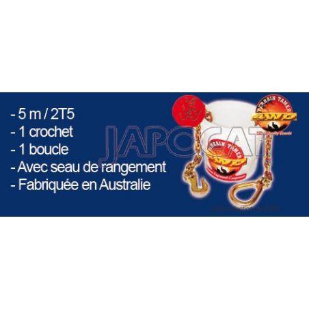 CHAINE DE TREUILLAGE 5M 2.5T