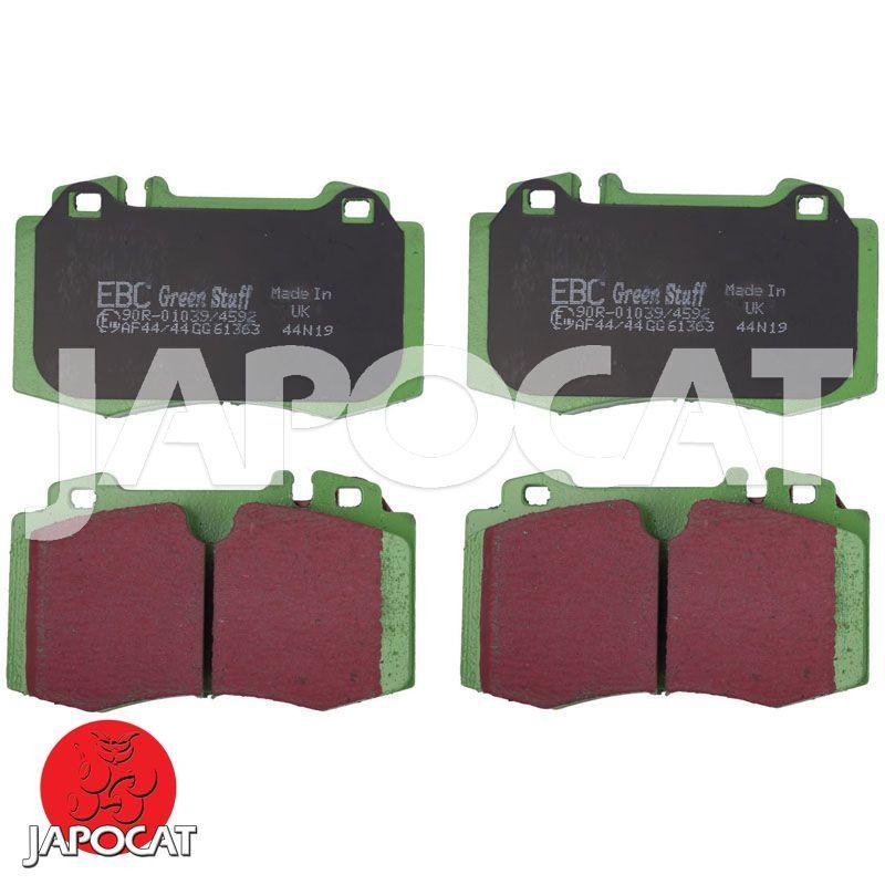 EBC Greenstuff Plaquettes Frein Avant pour FORD Capri Mk1 1.6 L 1972 /> 1975-DP2291